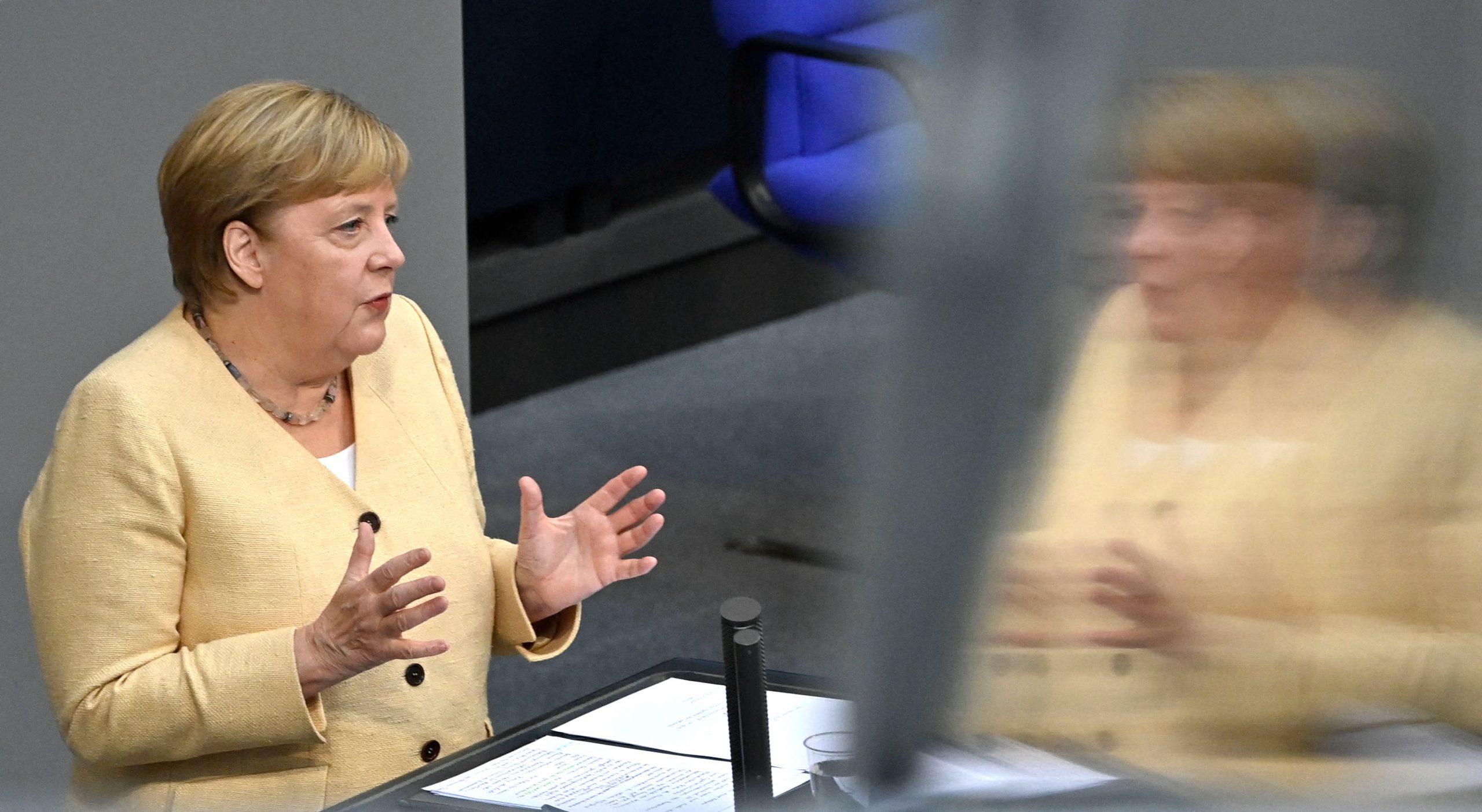 """Merkel wirbt für Laschet: """"Es ist nicht egal, wer dieses Land regiert"""""""