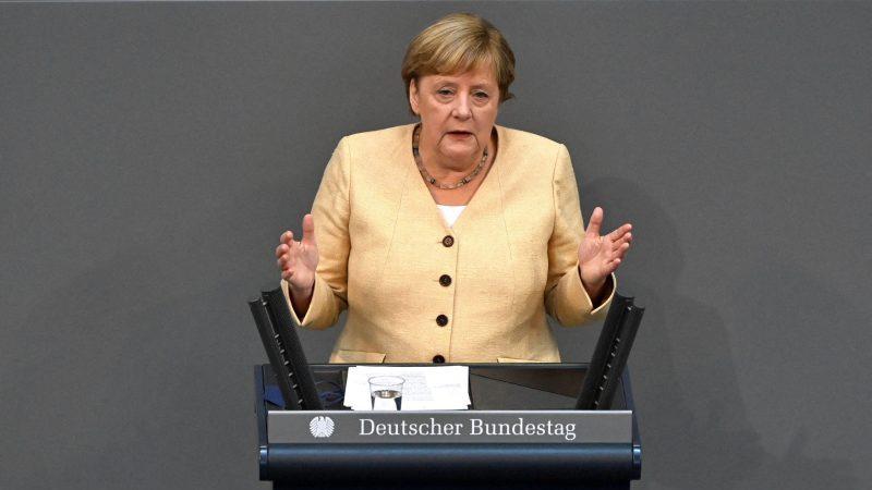 Umfrage-Mehrheit sagt: Werden Merkel nicht vermissen