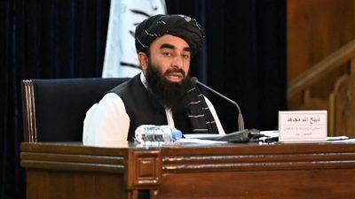 Taliban stellen erste Regierungsmitglieder vor