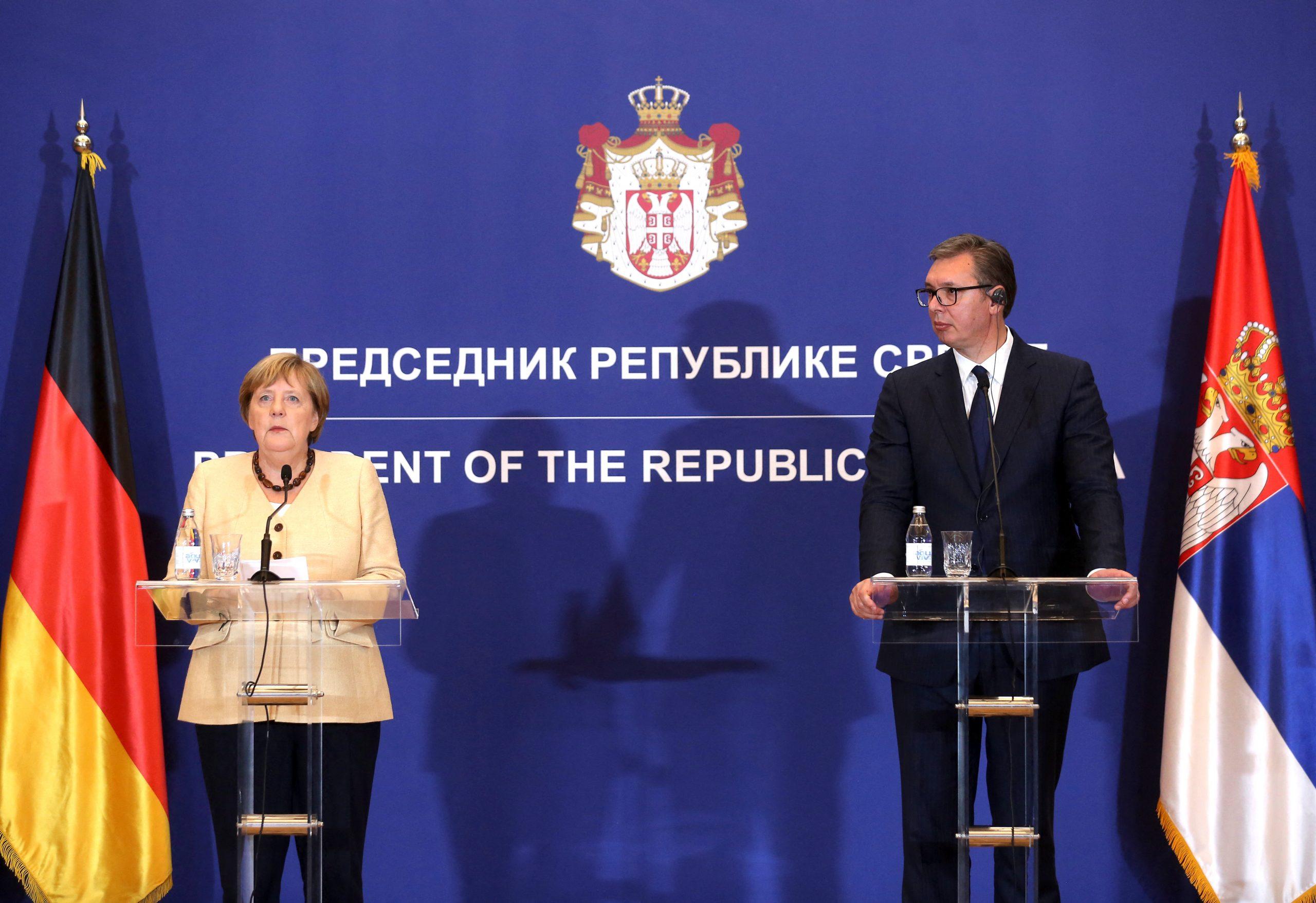 Merkel fordert rasche Fortschritte im EU-Beitrittsprozess des Westbalkan