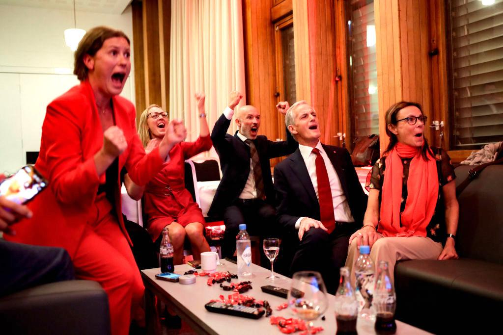 Linke Opposition bei Norwegen-Wahl stärkste Kraft