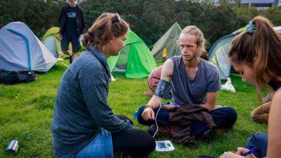 Hungerstreik fürs Klima: Zwei Aktivisten im Krankenhaus