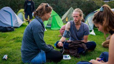 Klimaaktivisten in Berlin beenden Hungerstreik – Scholz sagt Gespräch zu