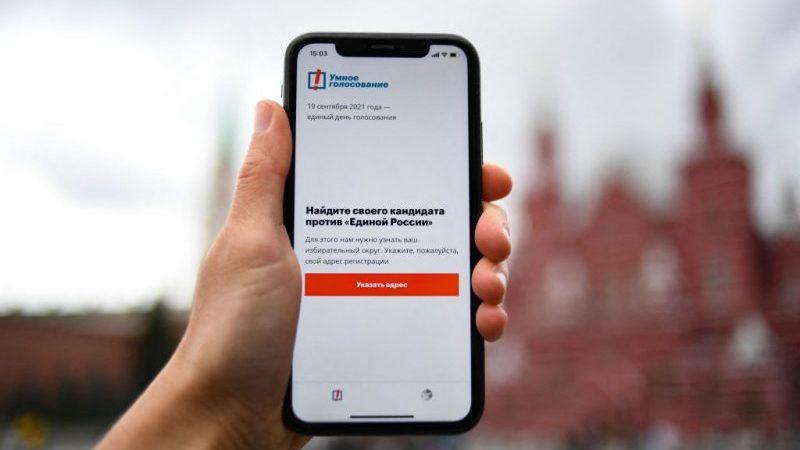 Parlamentswahl in Russland: Google und Apple löschen Nawalny-App