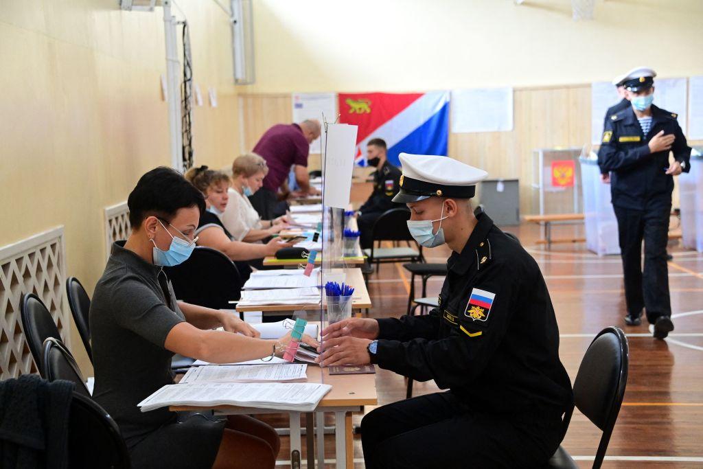 Parlamentswahl in Russland hat begonnen