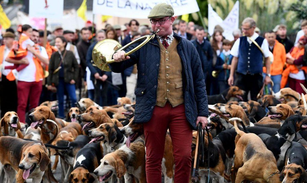 """Tausende Jäger demonstrieren in Frankreich für Erhalt der """"ländlichen Kultur"""""""