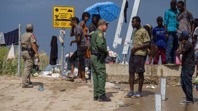 US-Regierung kündigt verstärkte Abschiebeflüge von Migranten an