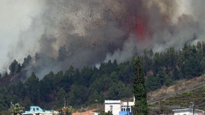 Nach 50 Jahren Ruhe: Vulkan Cumbre Vieja auf La Palma ausgebrochen