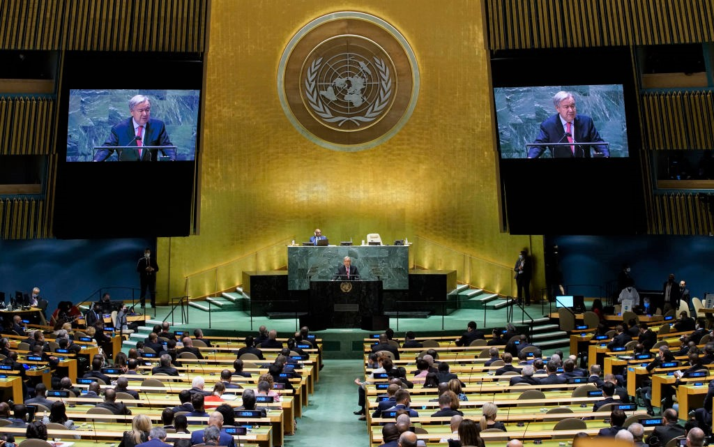 """UN-Generalsekretär sieht Welt """"am Rande eines Abgrunds"""""""