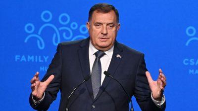 """""""Bosnien ist ein Experiment des Westens, das nicht funktioniert"""""""