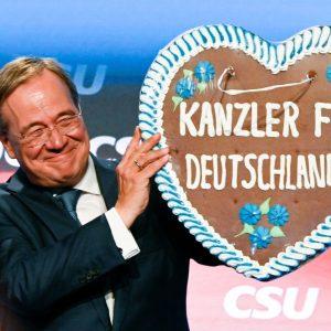 Laschet will als Bundeskanzler eng mit Markus Söder zusammenarbeiten