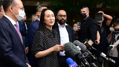 Huawei-Finanzchefin Meng darf Kanada verlassen – Peking lässt zwei Kanadier frei