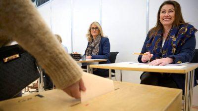 Mehrheit für Regierungsparteien bei Parlamentswahl in Island
