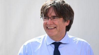 """Puigdemont: """"Ich bin daran gewöhnt, von Spanien verfolgt zu werden"""""""