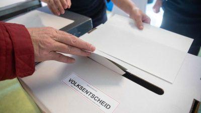 Berlin: Volksentscheid ohne rechtliche Bindung