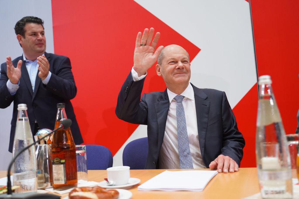 Scholz sieht SPD-Erfolg als Modell für Europas Sozialdemokratie