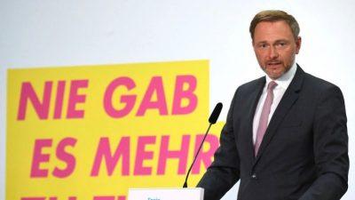 """FDP """"voll handlungsfähig"""" – Lindner erneut zum Fraktionschef gewählt"""