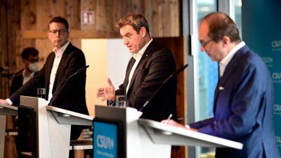 """""""Es ist zum Verrücktwerden"""" – CSU kritisiert Sondierungsvorbereitungen der CDU"""