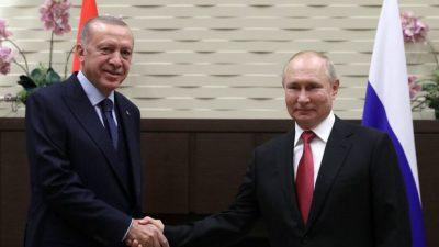 Erdogan und Putin beraten über gemeinsame Rüstungsprojekte