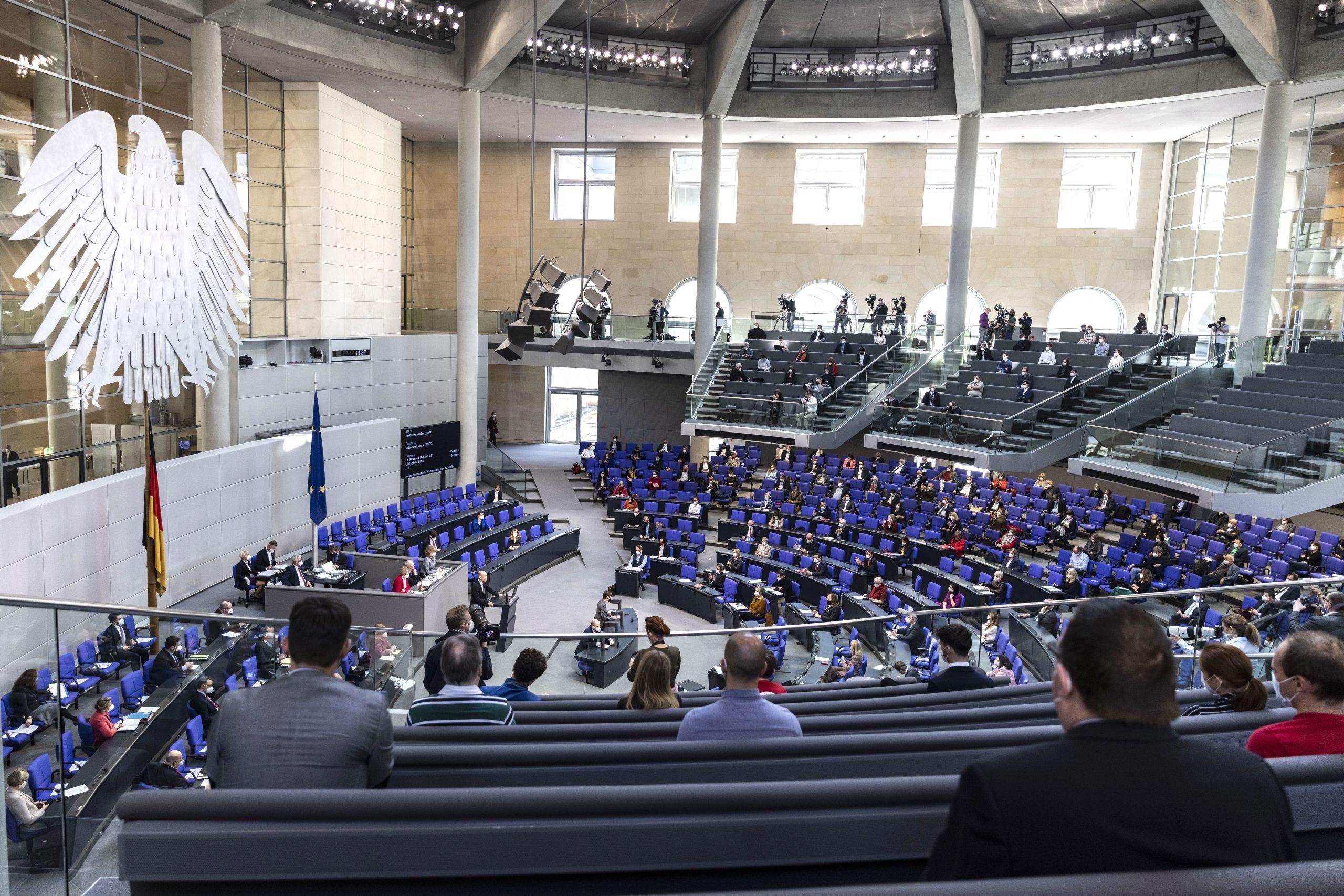 Bundestagsdebatte über die Situation in Deutschland