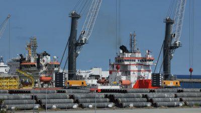 Gazprom: Nord Stream 2 ist fertig
