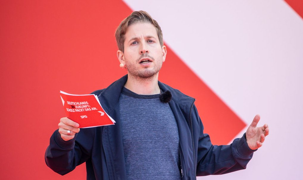 """Ohne FDP, ohne CDU/CSU, ohne Linke"" – Kühnert will rot-grünes Bündnis"