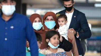 Von den USA Evakuierte stellen in Deutschland Asylantrag