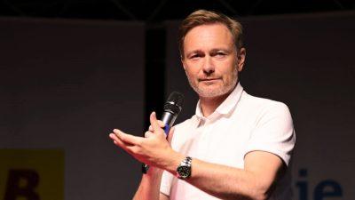 FDP-Chef Lindner: Rolle des Kanzlers künftig unwichtiger
