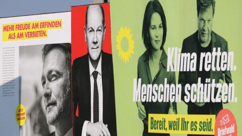 Scholz wirbt um FDP zur Bildung einer Ampel-Koalition