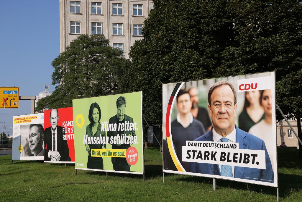 Union setzt weiter auf Attacken gegen SPD, Grüne und Linke