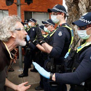 Australien: Gewaltsame Proteste gegen Corona-Lockdown in Melbourne