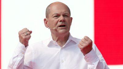 Scholz will Sofortprogramm für hunderttausende neue Wohnungen