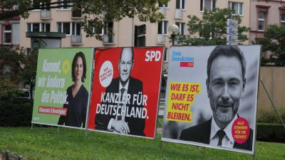 Demoskopen: Deutsche blicken skeptisch auf mögliche Dreier-Koalition