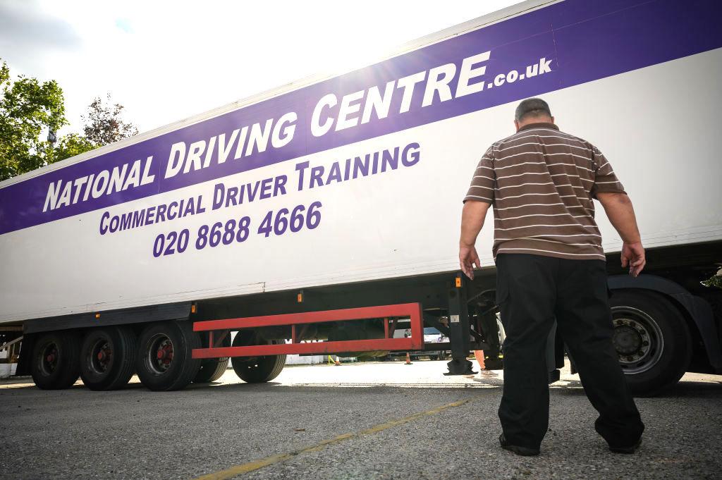 Liefersorgen: London bietet Lkw-Fahrern Arbeitsvisa an