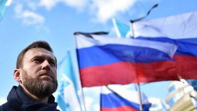 Justiz erhebt neue Vorwürfe gegen Kreml-Kritiker Nawalny