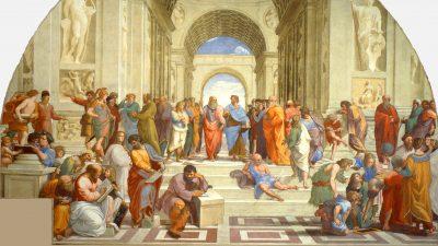 """""""Die Schule von Athen"""": Tribut an die größten Denker"""