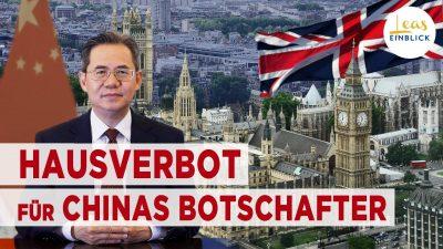 Chinas Botschafter darf nicht in das britische Parlament