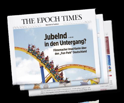 Jetzt erhältlich: Epoch Times Wochenzeitung #10
