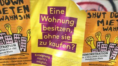 SPD zweifelt an Umsetzung des Volksentscheids über Wohnungsenteignungen