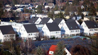 Preise für Wohnimmobilien steigen immer schneller