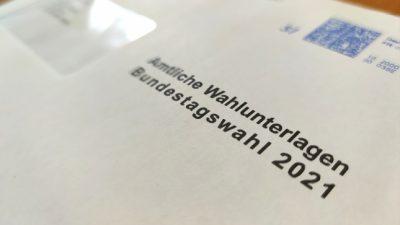 Bislang kaum Unregelmäßigkeiten bei Briefwahl