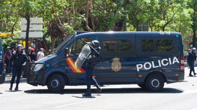 25.000 Menschen feiern trotz Verbots Party in Madrid – Polizei überfordert