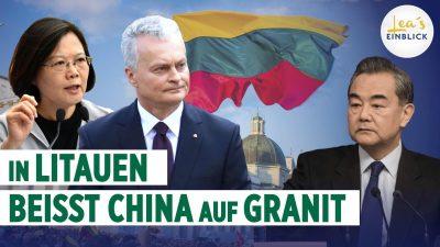 David gegen Goliath: Litauen fordert China heraus – EU-Solidarität auf dem Prüfstand