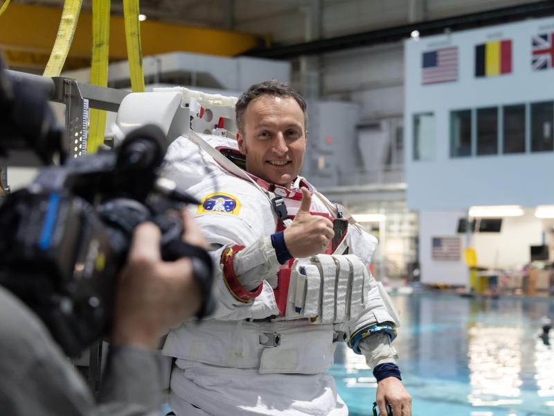 Esa-Astronaut Maurer: Logo von Himmelsscheibe inspiriert