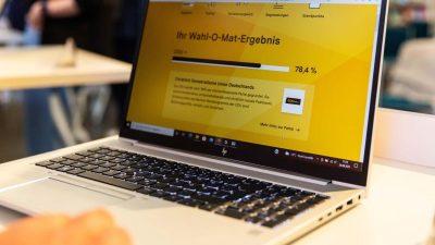 Digitale Wahlhelfer mit Tücken
