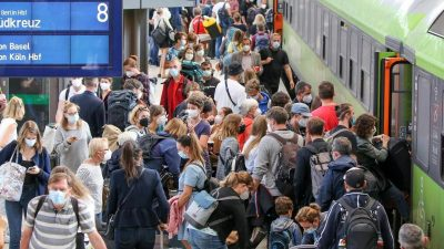 Bahnstreik geht zu Wochenbeginn weiter