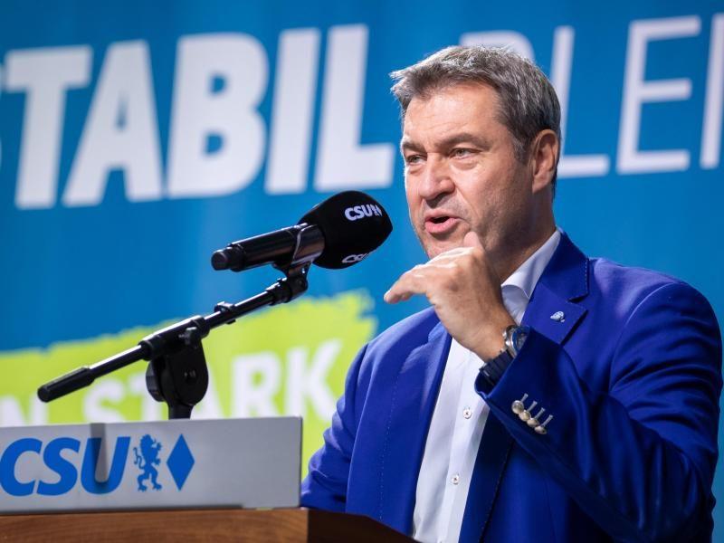 CSU-Parteitag startet mit Söder-Wahl – Rufe nach Geschlossenheit
