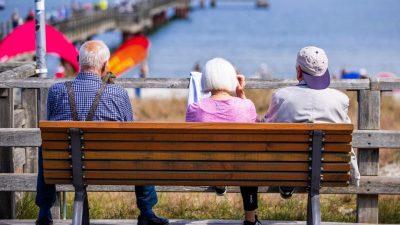 Für Millionen Deutsche wird im Alter das Geld knapp
