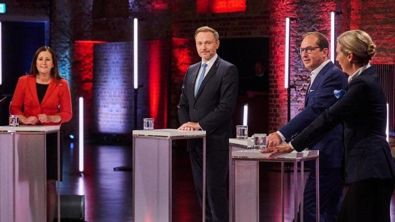 Wissler und Weidel für Annäherung an Russland – Lindner und Dobrindt dagegen