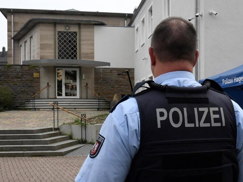 Hagener Synagoge: Verdächtiger Syrer wegen Chats in Haft